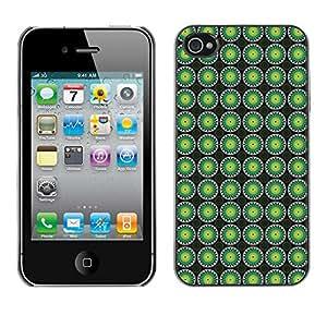 ZECASE Funda Carcasa Tapa Case Cover Para Apple iPhone 4 / 4S No.0004628