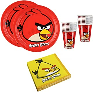 Angry Birds Birthday Party Supplies Set Plates Napkins Cups Kit for 16  sc 1 st  Amazon.com & Amazon.com: Angry Birds Pinata Party Supplies: Toys u0026 Games