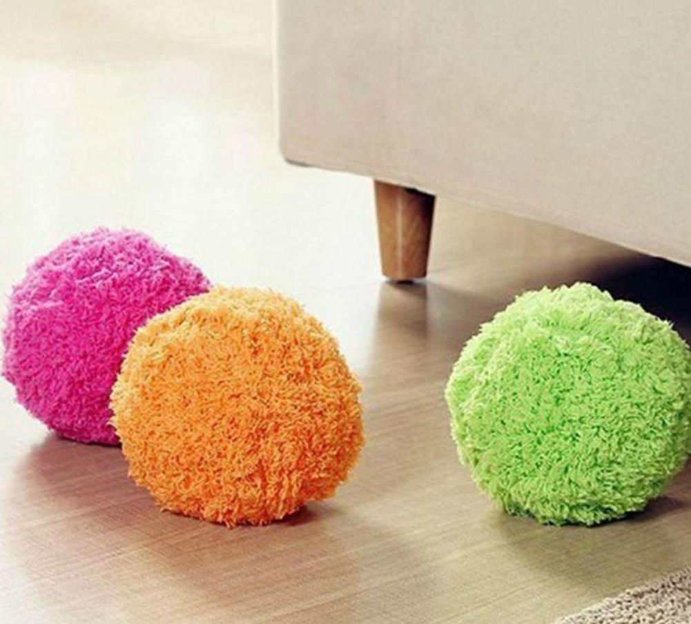 De la fregona Mocoro de la bola, mini robot aspirador, la de la automáticamente el polvo fijada, mini aspirador: Amazon.es: Hogar