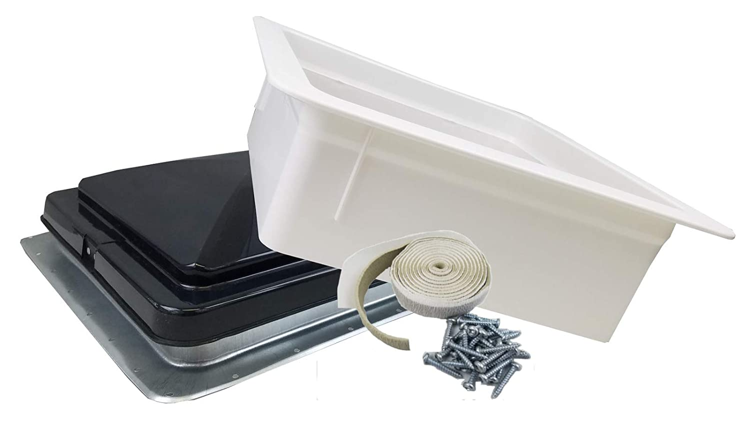 Class A Customs 71111-5PS RV Roof Vent Non-Powered w// 5 Garnish and Putty /& Screws