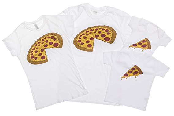 44273902 Pizza and Slice Father and Baby Matching Outfits (Sold Separately ...