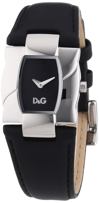 D&G Dolce&Gabbana Damen-Armbanduhr Analog Quarz Leder DW0614