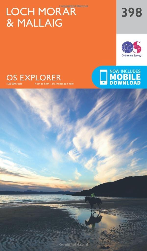 Loch Morar and Mallaig 1 : 25 000 (OS Explorer Active Map)