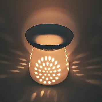 Amazon.com: DEBON - Difusor de lámpara de aroma floral de ...