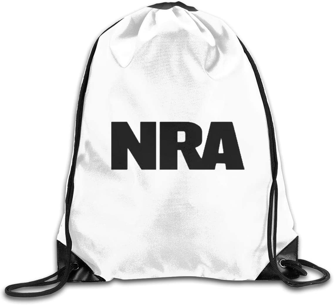 NRA National Rifle Association Drawstring Bags Eat Sleep Dance Repeat Beam Mouth Backpack Basketball Tennis Gympack