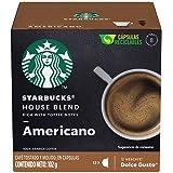 Starbucks by Nescafé Dolce Gusto, House Blend Americano 12 Cápsulas