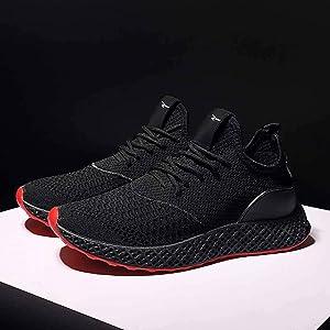 Sencillo Vida Zapatos de Seguridad para Hombre Zapatillas de Running Transpirables Zapatillas de Deporte Unisex Adulto Sneakers Zapatos Hombre Vestir Casuales para Correr Gimnasio: Amazon.es: Zapatos y complementos