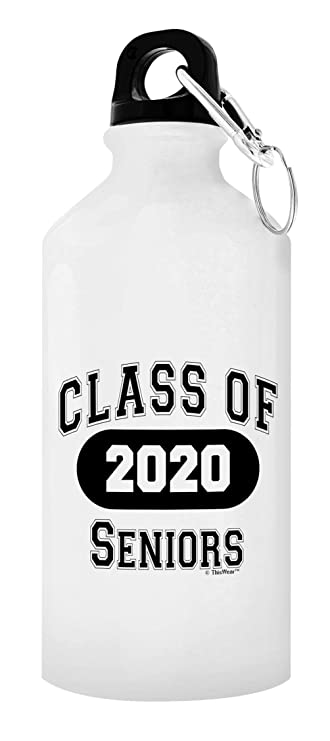 Best Gifts For College Students 2020.Thiswear Graduation Gifts Class Of 2020 Seniors Graduation Gifts For Women Graduation Party Gift 20 Oz Aluminum Water Bottle With Carabiner Clip Top