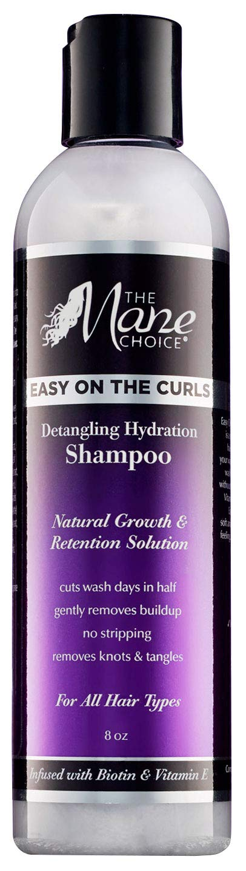 THE MANE CHOICE - EASY ON THE CURLS: Detangling & Hydration Shampoo (8oz.)