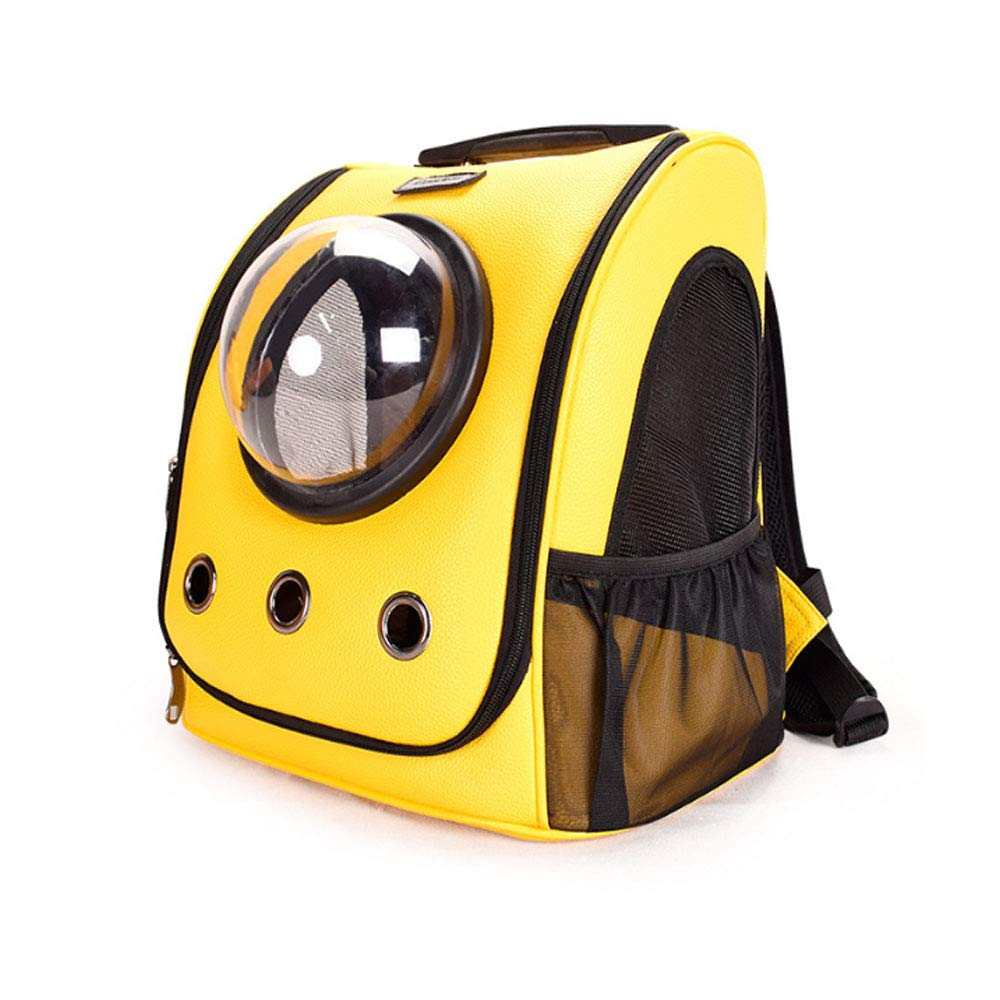 0 ℃ Outdoor Portable Pet Travel Carrier Sac À Dos, Space Capsule Bubble Design, Sac À Dos Étanche Sac À Main Chat Petit Chien