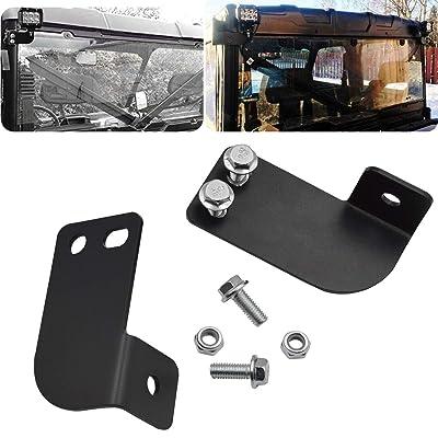 Rear Pillar Roll Cage Bar LED Light Pod Mounting Brackets Fits 2013-2020 Polaris Ranger Full Size: Automotive