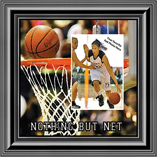 Basketball Picture frame, Great Team Gift Ideas or Gifts for Coaches Basketball, 10X10 9712B