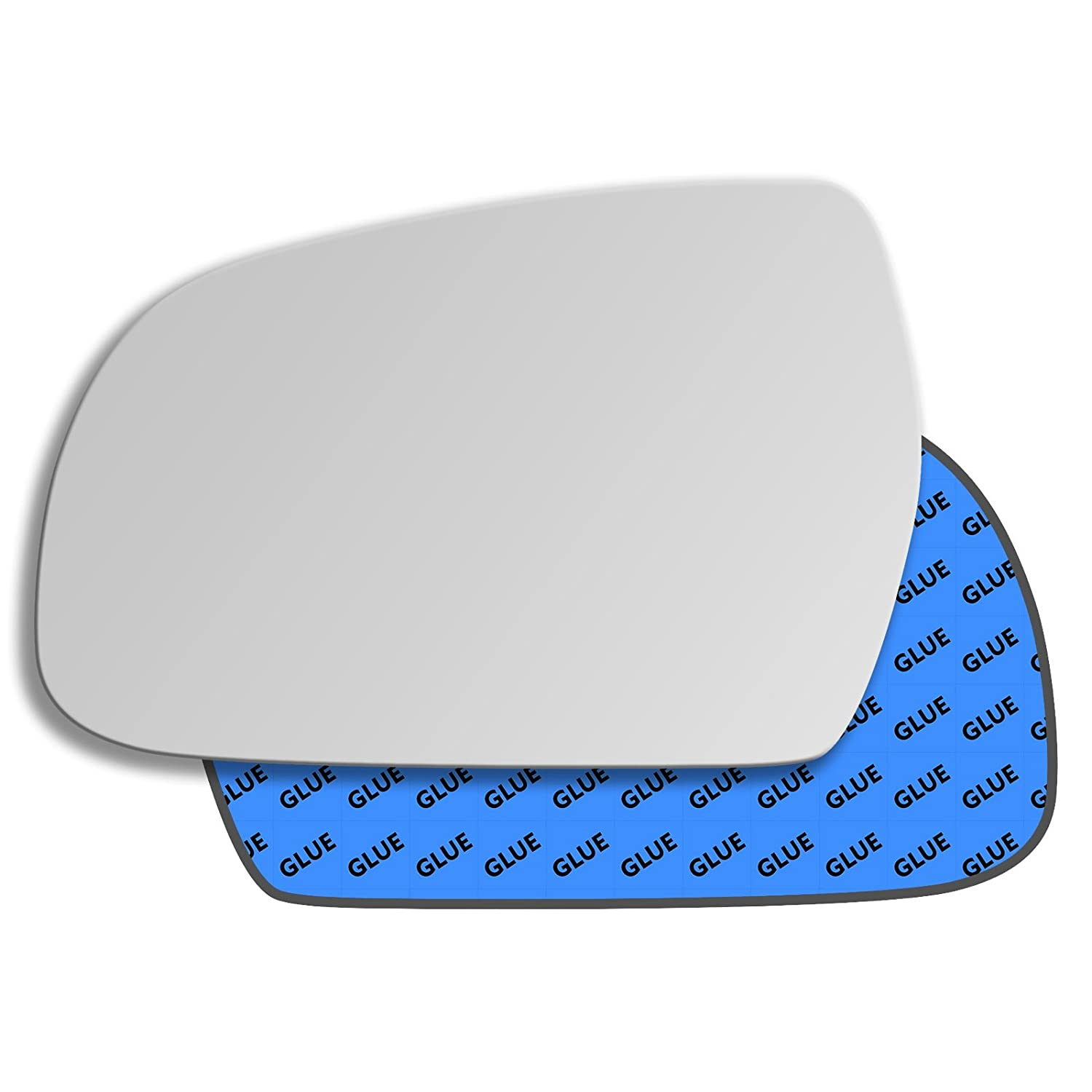 Hightecpl 380LS Left Passenger Side Convex Door Wing Mirror Glass