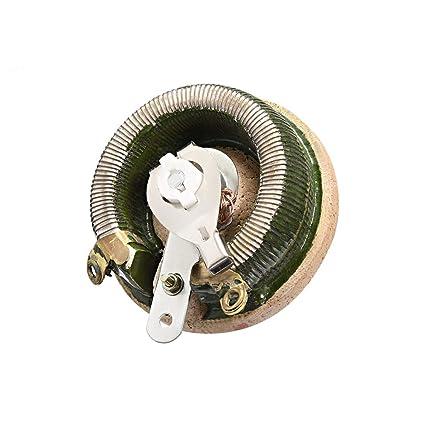 uxcell 20 ohm 100w high power ceramic wirewound potentiometer rh amazon com