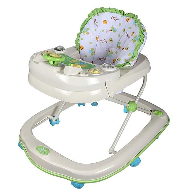 Andador Bebe Anti-vuelco Walker bebé 6-7-12-18 Meses Los bebés ...