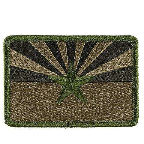Velcro Patch : Arizona Flag - Multitan (Desert Arizona Flag Patch)