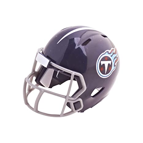 8a2491d1c Image Unavailable. Image not available for. Color  Riddell NFL Tennessee  Titans Pocket Pro Speed Helmet ...