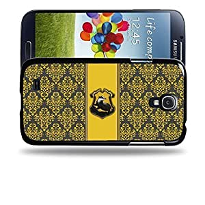 dagongsi Designs Harry Potter & Hogwarts Collections Hogwarts Hufflepuff Sigil Protective Snap-on Hard Back Case Cover for Apple Samsung Galaxy S4