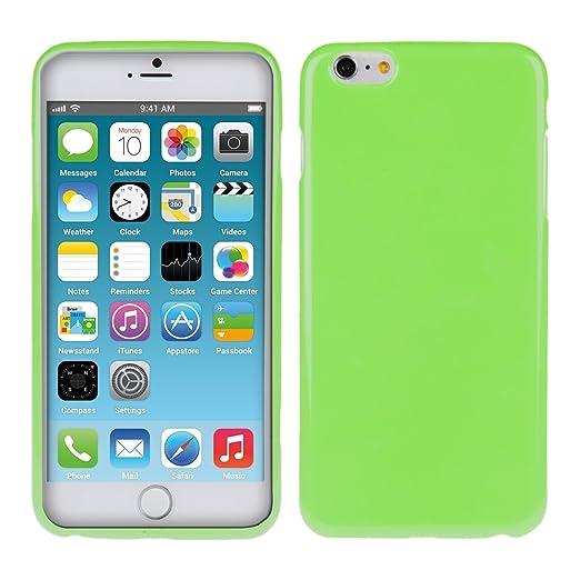75 opinioni per kwmobile Cover per Apple iPhone 6 Plus / 6S Plus- Custodia in silicone TPU- Back