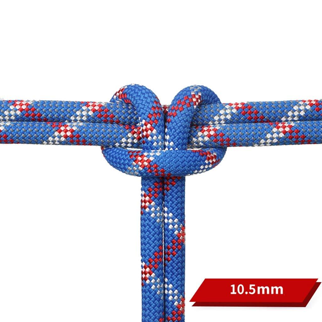 TLMYDD クライミングロープアウトドアクライミングスピードドロップロープ空中作業ライフライン静電ロープ直径10.5 mm青 ロープ (サイズ さいず : 200M(656FT)) B07RL7KH6H 150M(492FT)  150M(492FT)