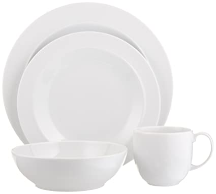 Denby White 4-Piece Place Setting  sc 1 st  Amazon.com & Amazon.com: Denby White 4-Piece Place Setting: Dinnerware Sets ...
