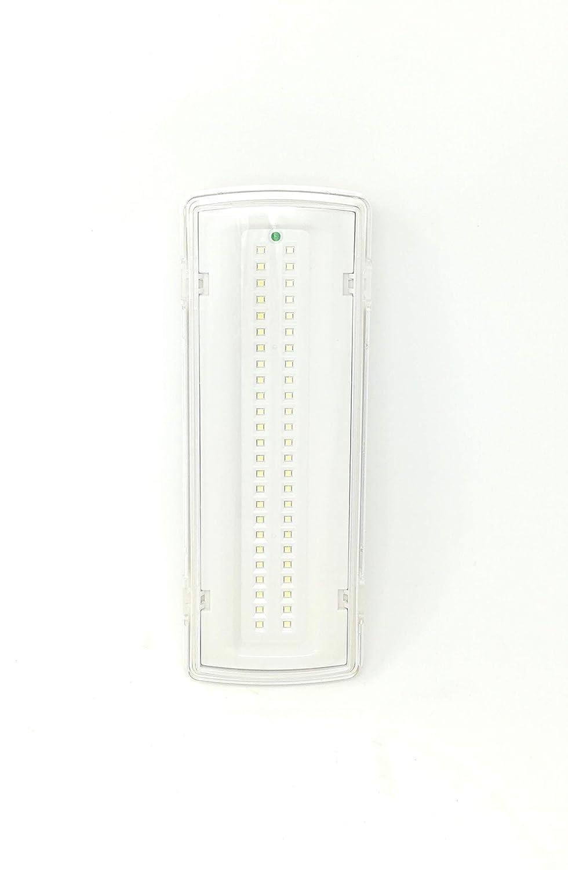 tempo di saldi Lampada Di Emergenza Con 50 Led Completa Di Incasso E Batteria Luce Bianca 4W