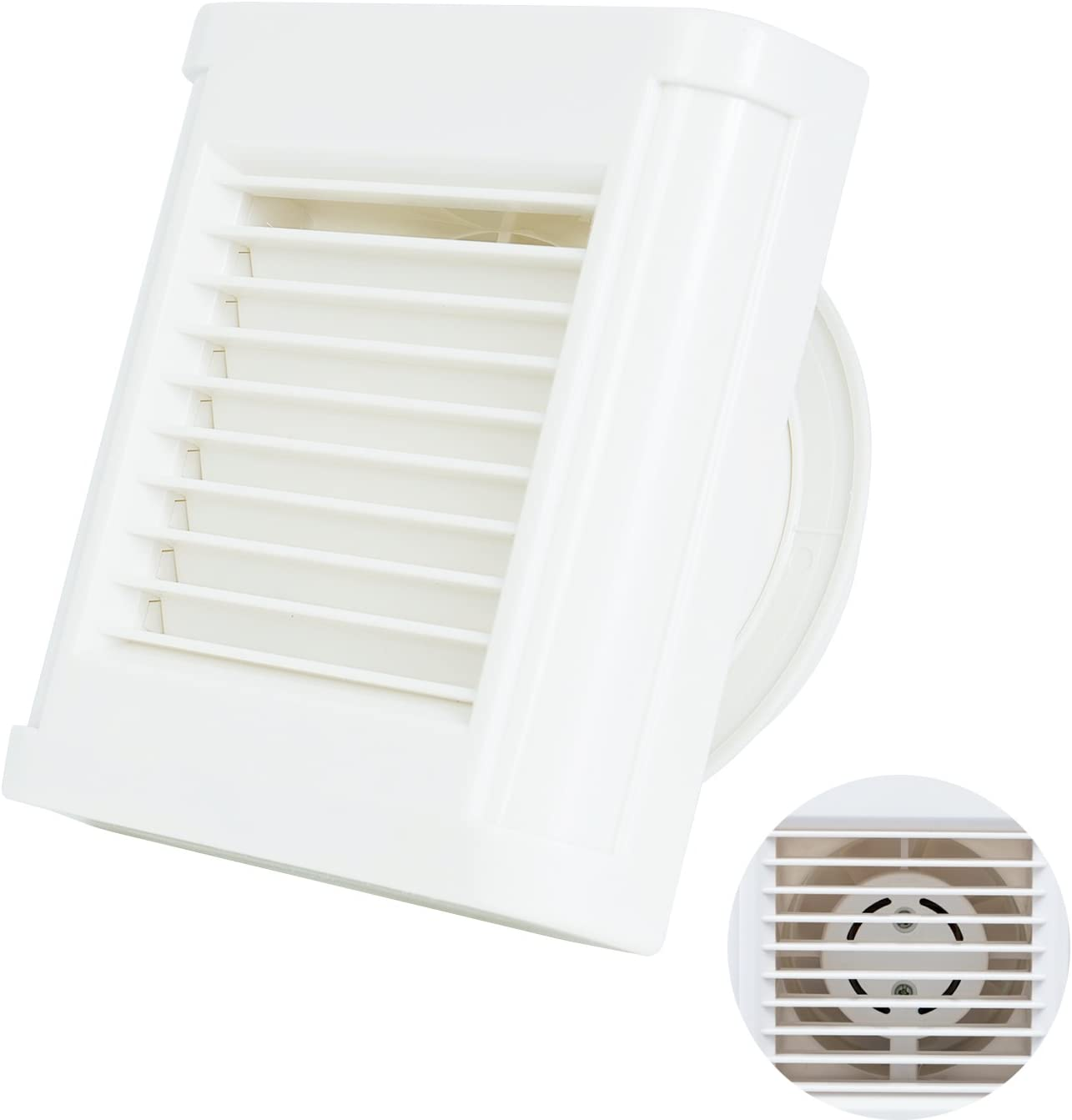 HG POWER Strong Exhaust Extractor Fan Wall Mount /& Ceiling Exhaust Fan Built-in Household Ventilation Fans Without Plug HG-PI372 Ventilation Exhaust Fan