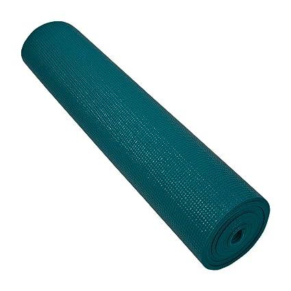 Nu-Source Non-Toxic Piloga Yoga Mat, 24 x 72-Inch, Teal