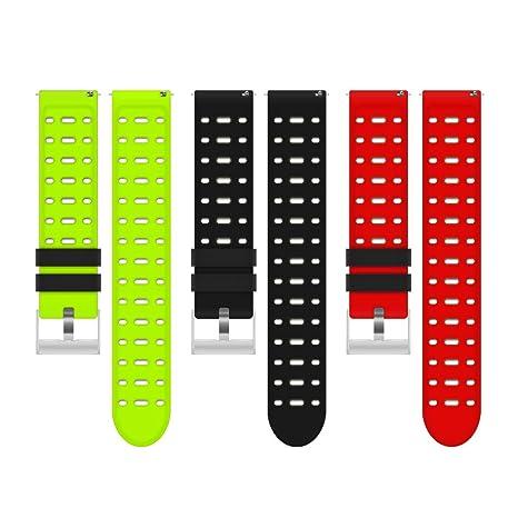 LIFEBEE 3 Packs Bandas de Reloj Q88 Smart Watch, Correa ...