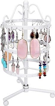 Earrings Ear Stud Jewelry Show Stand Rotating Display Rack Holder 148 Holes