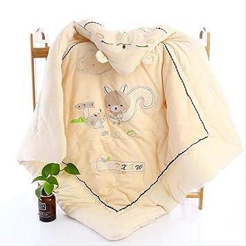 FJY Bebé Manta Swaddle De Algodón Para Envoltura Pañales Ropa Cama Recién Nacidos Suave Acogedor Saco