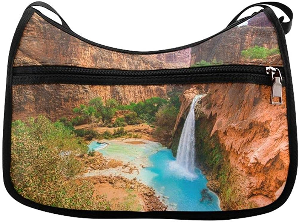 Amazing Views Of Grand Canyon Arizona Messenger Bag Crossbody Bag Large Durable Shoulder School Or Business Bag Oxford Fabric For Mens Womens