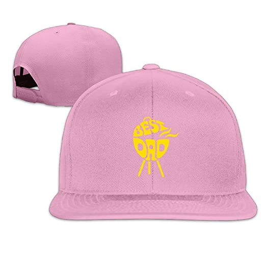 HHNYL Unisex Snapback Cap Best Dad Flat Bill Hats Adjustable Blank Caps at  Amazon Men s Clothing store  a412749e76b