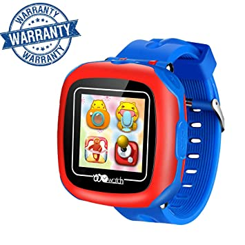 VANNICO Smartwatch Niños, Reloj Niños No GPS, Reloj Inteligente, Juegos de Pantalla táctil Smartswatch con Llamadas Cámara Digital para niños Niñas ...
