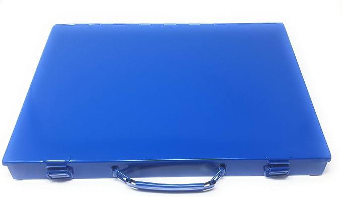 DWT-Germany 101345 Juego de roscas 110 piezas, m/étricas, M2-M18, malet/ín de metal