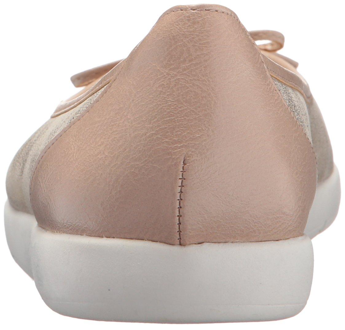 LifeStride Women's Haylee Ballet Flat B0775X1G5Y 9.5 B(M) US|Soft Gold