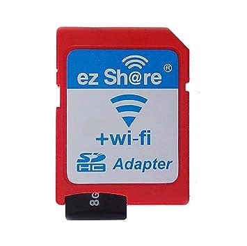 YIXIN WiFi SD Card mediante Cámara imágenes con piezas de ...