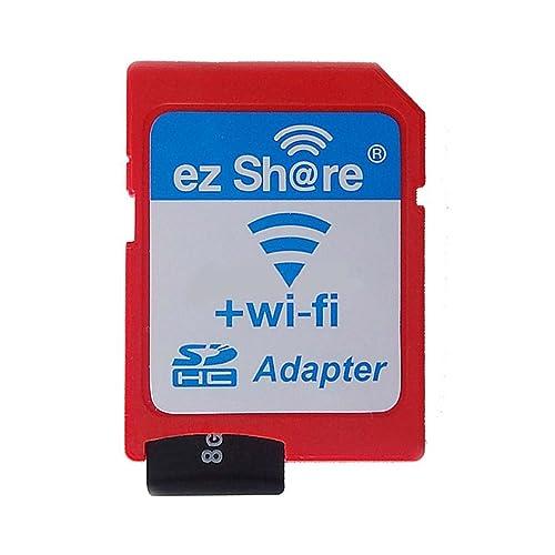 YIXIN Wifi Transfert de carte SD L'appareil-photo avec le téléphone / ordinateur sans fil Partager TF carte mémoire Micro adaptateur SD