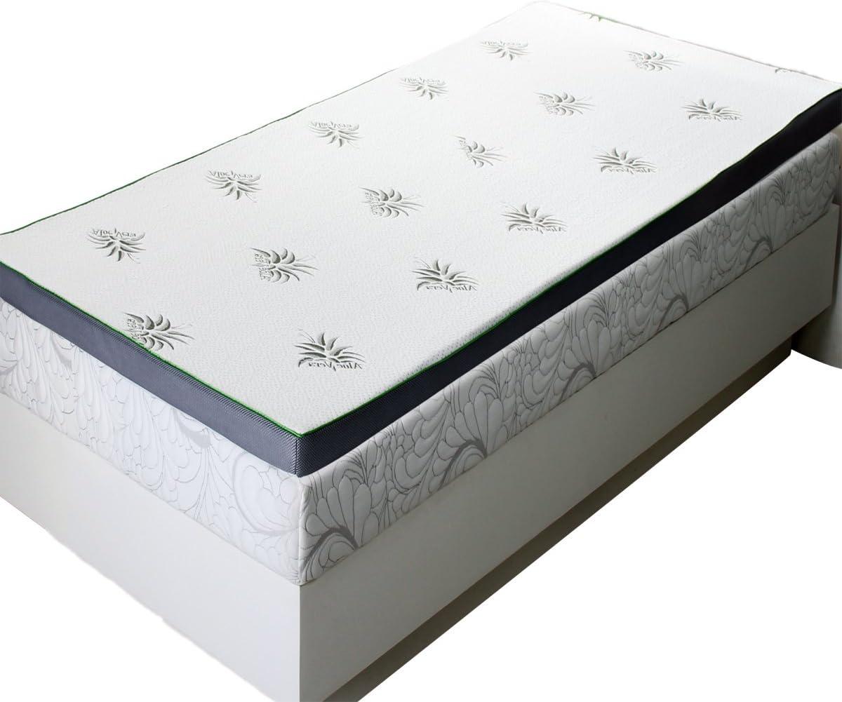 sheetsnthings 2.5 Abripedic Gel Memory Foam Mattress Topper Twin