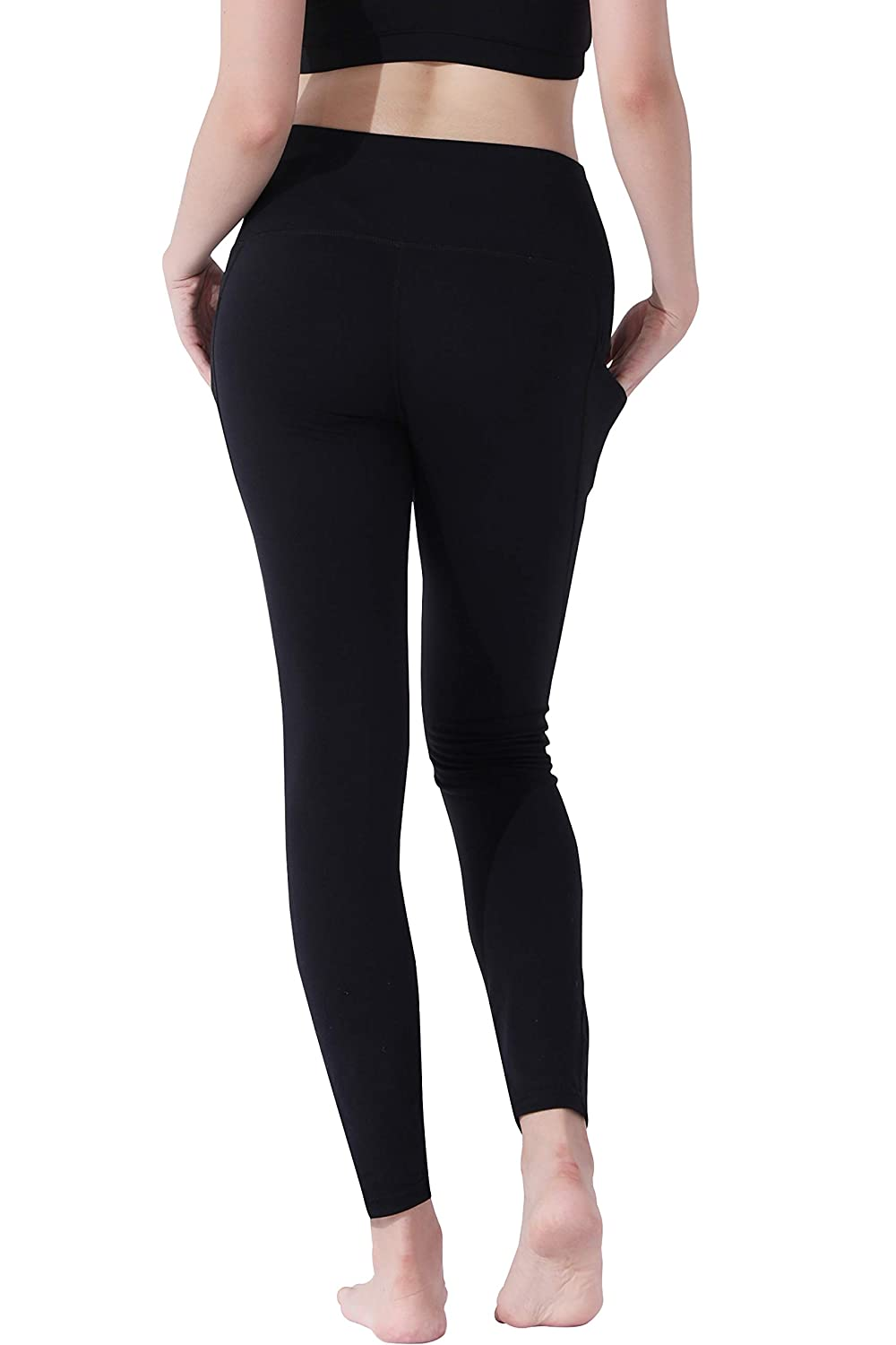 Orolay High Waist Yoga Pants with Pockets for Women Ultra Soft Leggings Workout Pants