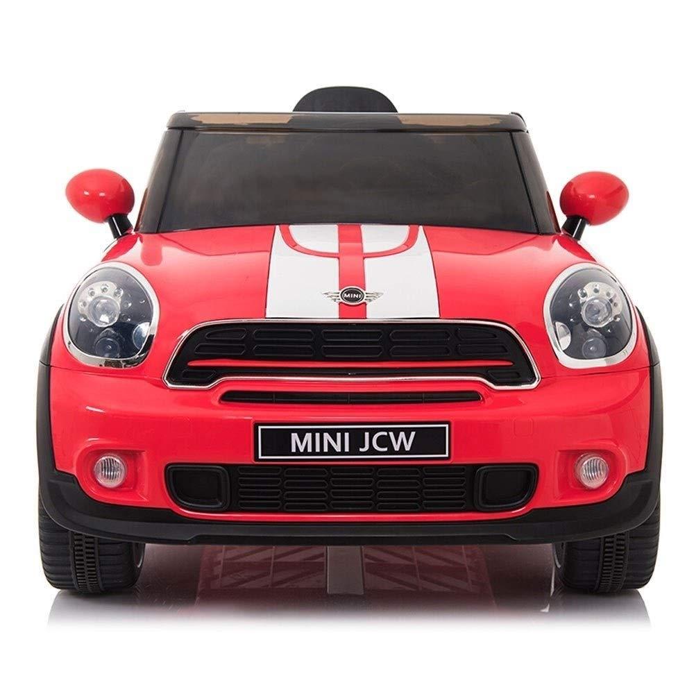 barato en línea rojo Kikioo Electric Kids Kids Kids 2WD Ride On Cars 12V Batería Vehículos eléctricos Juguete para bebés, hombres y mujeres Swing, ruedas, suspensión, control remoto, música e historias, luces de Colors, modelo Sun  ahorra 50% -75% de descuento