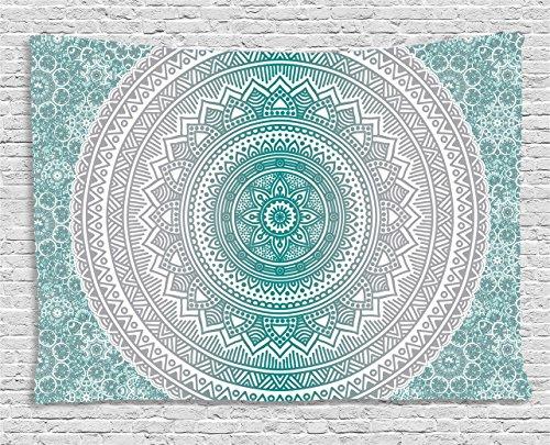 Tapestry Ambesonne Mandala Geometric Meditation