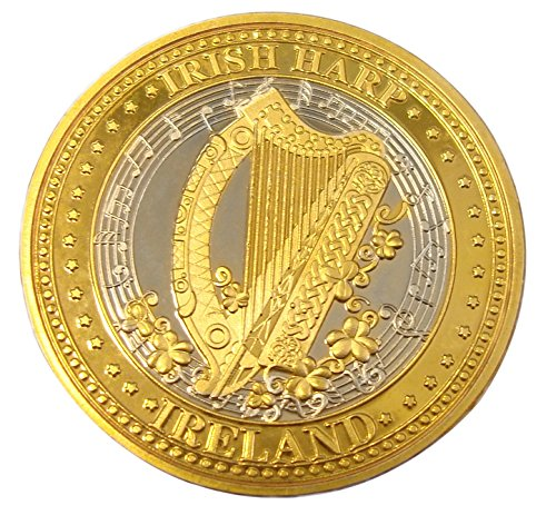 Collectors Edition Irish Harp Design Token