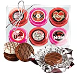 MOTHER'S DAY -COOKIE TALK CHOCOLATE COVERED OREOS - 6 PACK