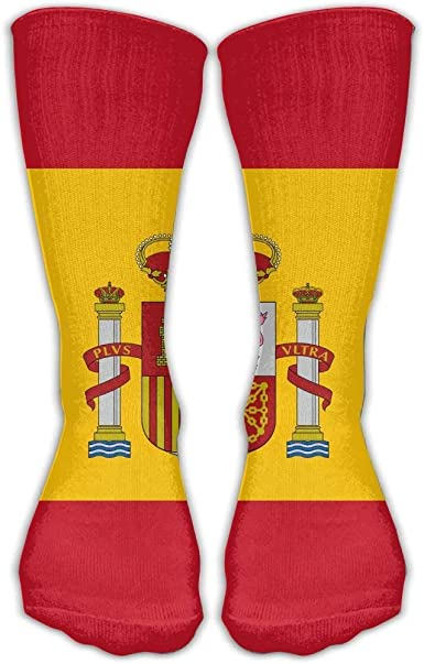 Socksforu Bandera de España Adulta Regalos Calcetines Calcetín Moda 50cm: Amazon.es: Ropa y accesorios