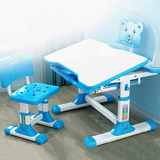 Qazqa Children Study Table and Chair Set