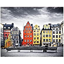 Pintoo - H1937 - The Old Town of Stockholm, Sweden - 500 Piece Plastic Puzzle