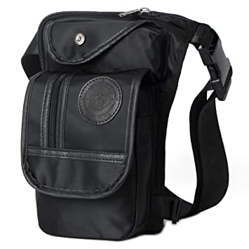 Amazon.com: Bolsa de pierna para hombre Fanny Pack Tactical ...