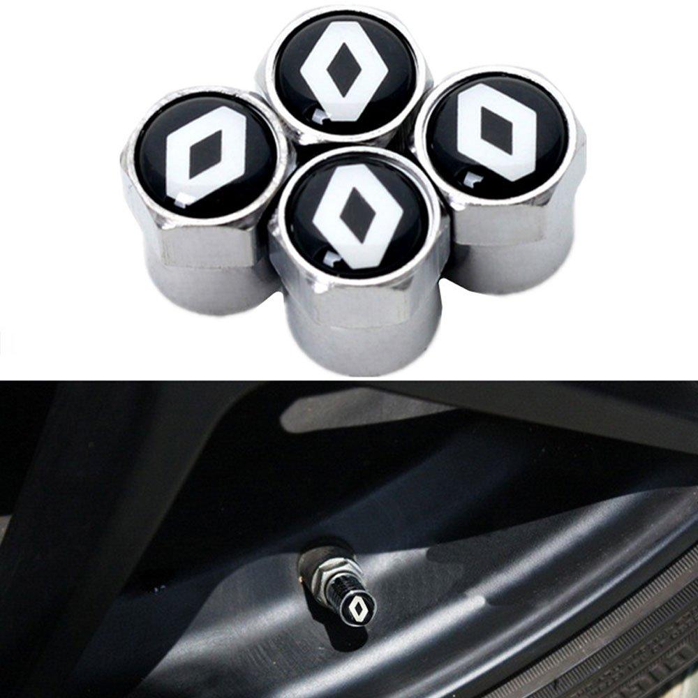 Black Chrome fanlinxin Mercedes-Benz AMG Logo Emblema Auto Auto Stelo Ruota Pneumatico valvola Aria Tappi Antipolvere Accessori Decorazione Regalo di Compleanno