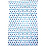 Snowflakes Dance On Dots Bath Towel